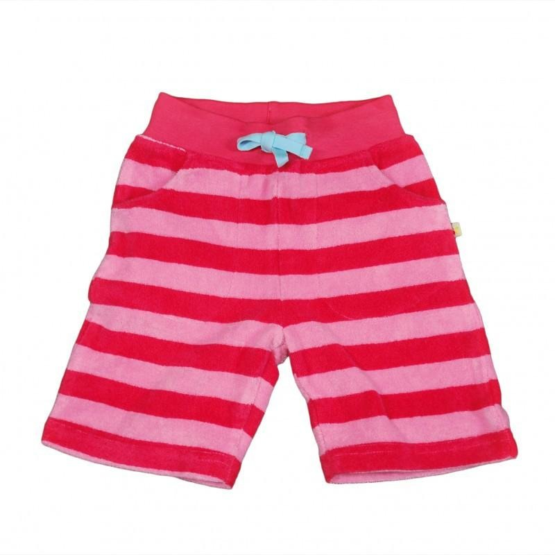 Little Stripy Short - Red