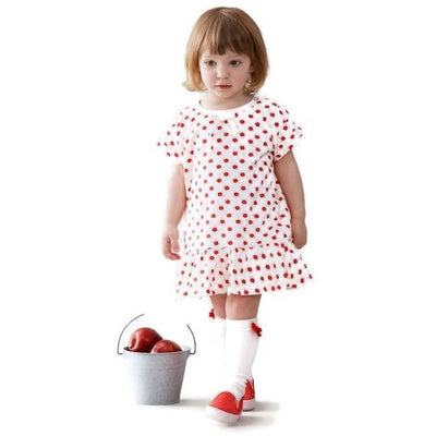 Organic Red Apple Dress