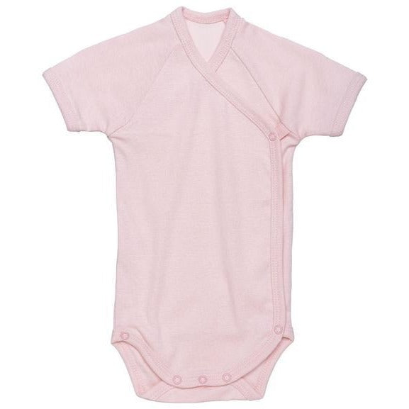 Short sleeve baby body blush