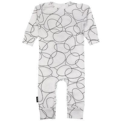 Baby Romper White Seed
