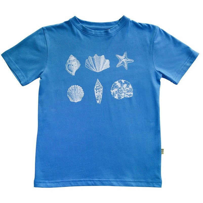 Easy Tiger Tee Blue Shells