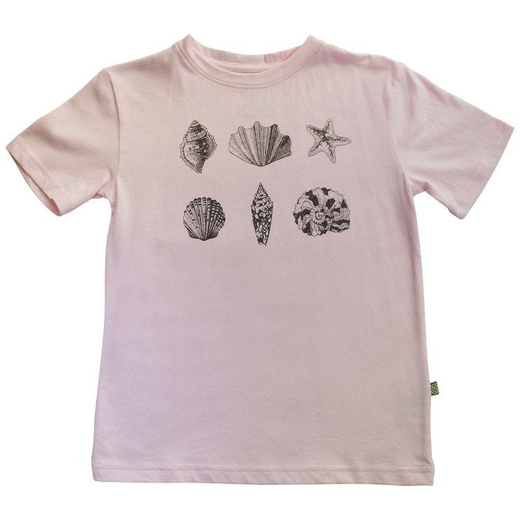 Easy Tiger Tee Pink Shells
