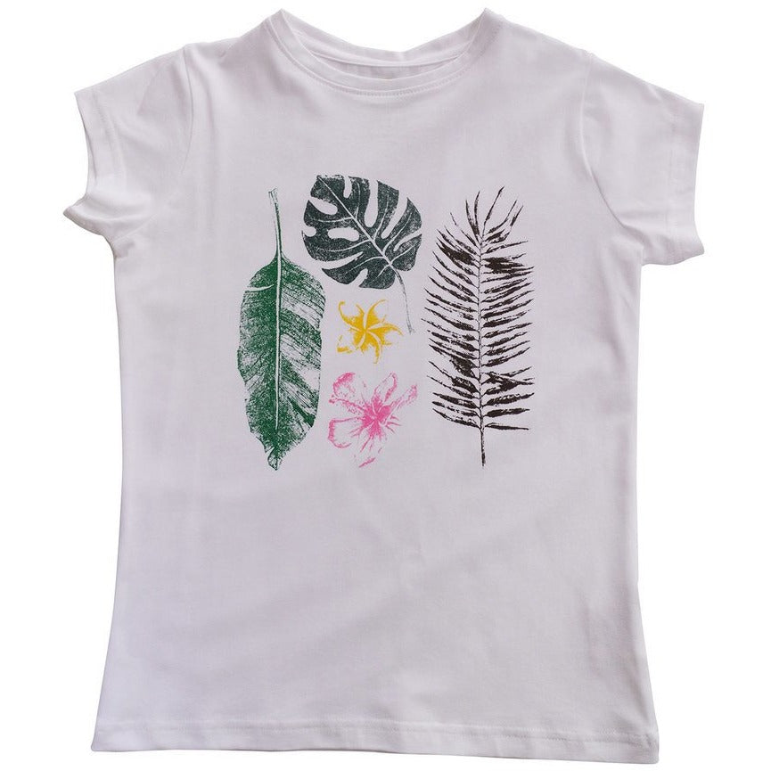Shlo Tee White Tropical