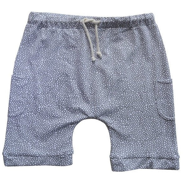 Eva Shorts White Bubbles