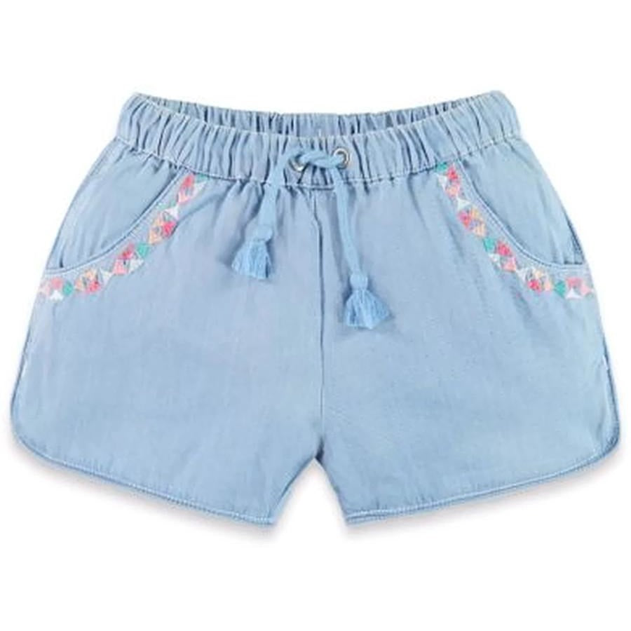 See Saw Denim Shorts