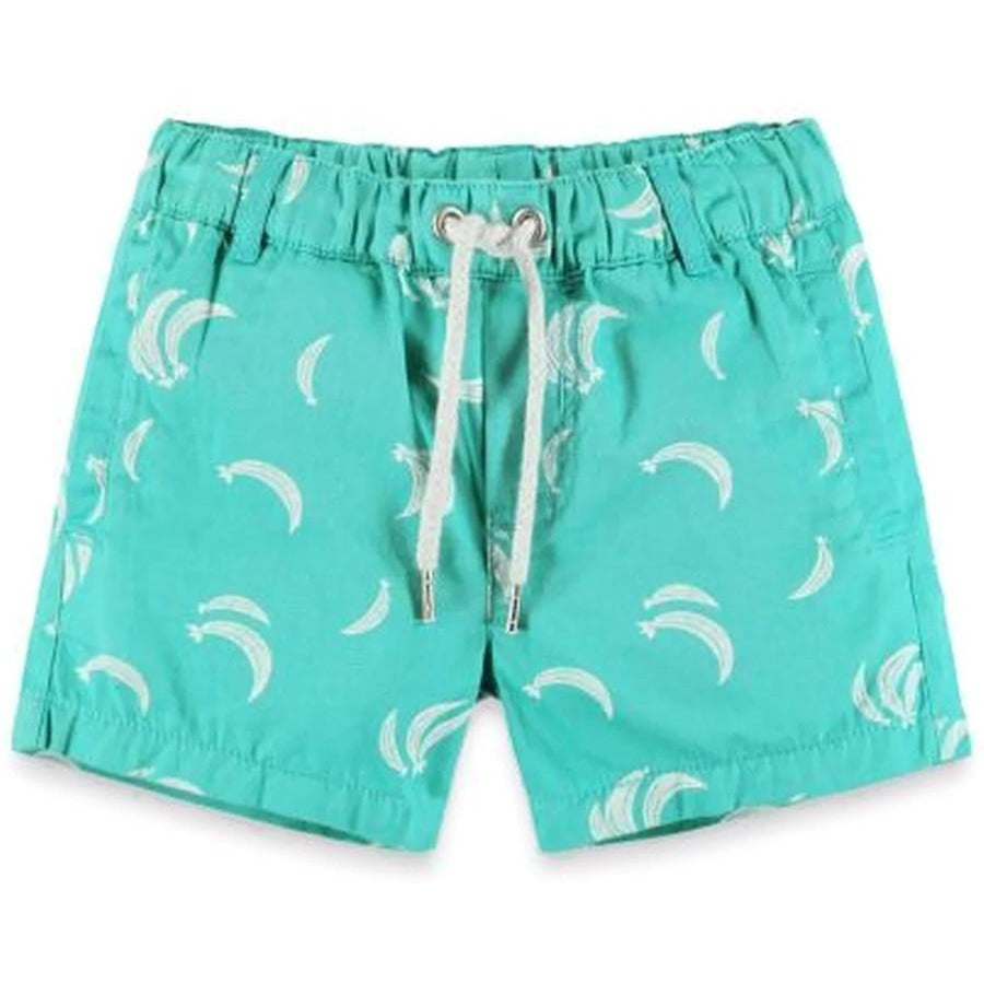 Banana Printed Short