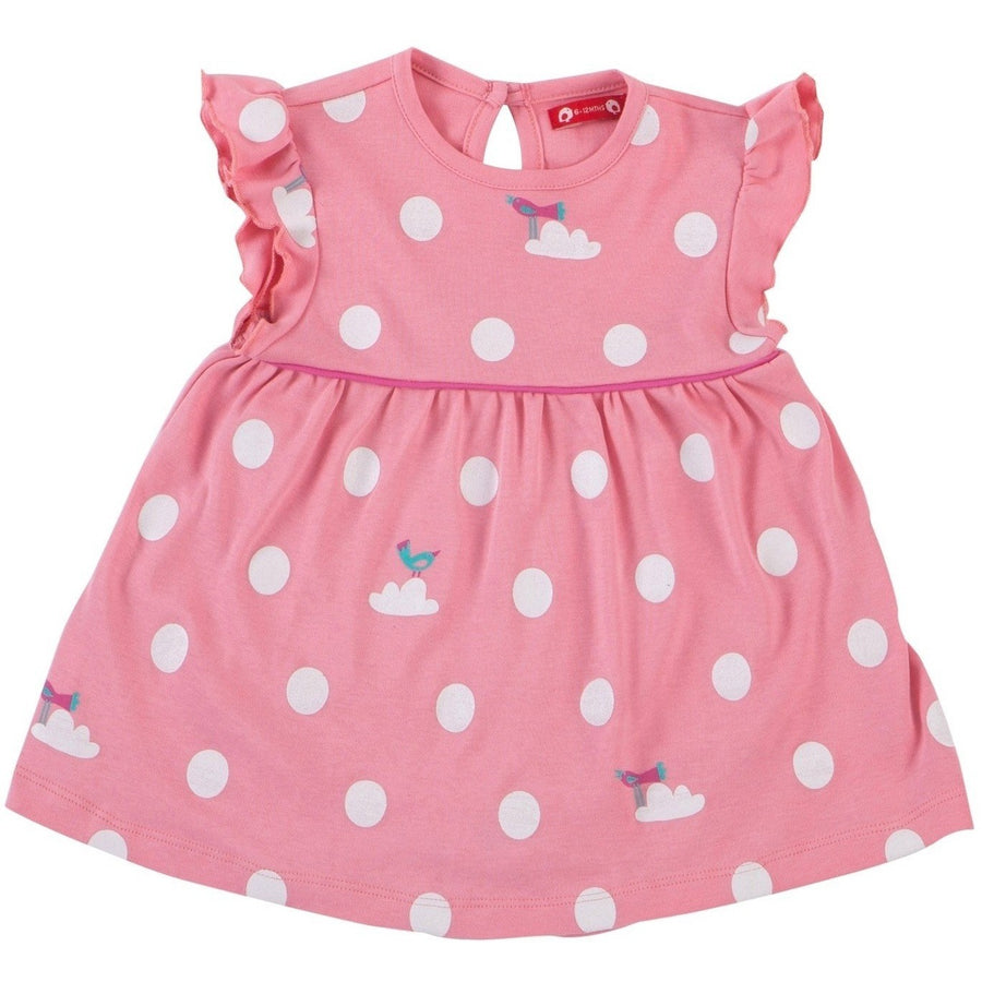 Body Dress Pink Polka
