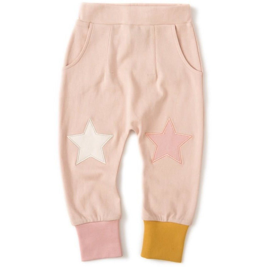 Pink star joggers