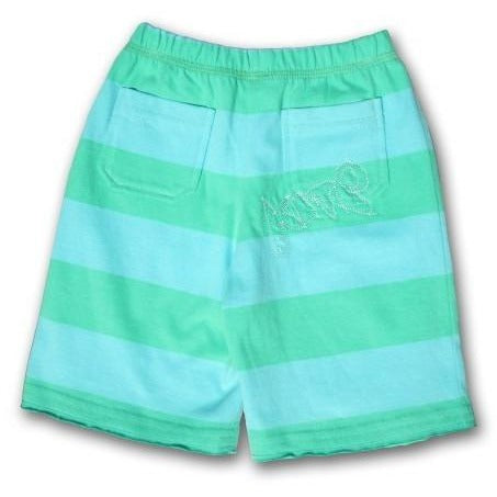 Mini Green Stripe Short