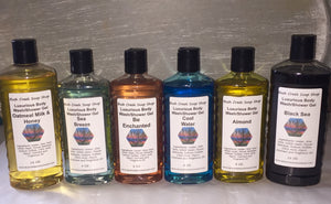 Handmade Bush Creek Luxurious Body Wash Shower Gel 180 Fragrances 8 oz Paraben Free A-K