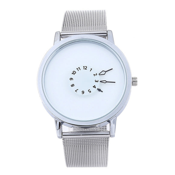 Elegant womens quartz creative wristwatch