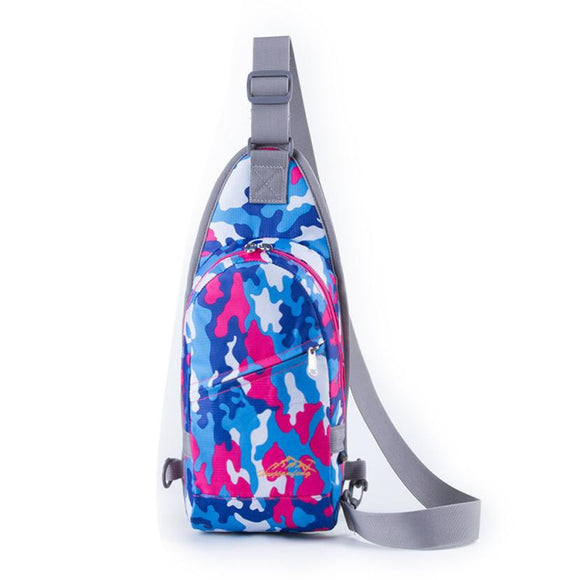 Durable nylon small shoulder sports bag