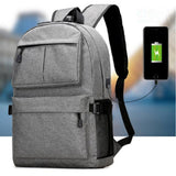 Backpack with easy access to USB Charger (charger not included)