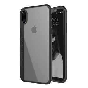 Luxury case for iPhone X fitted cases ultra thin capinhas clear PC & TPU silicone cover
