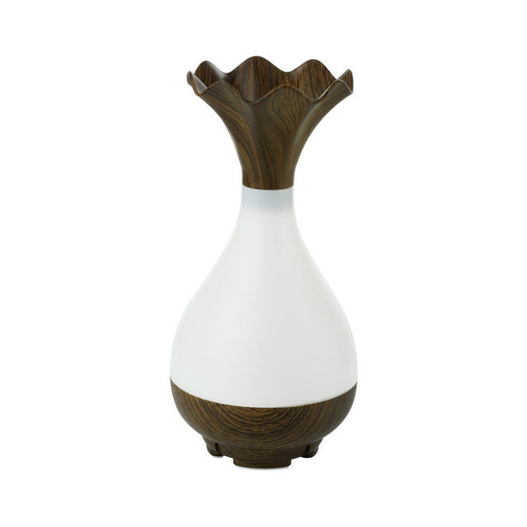 Essential Oil diffuser, Wood Vase