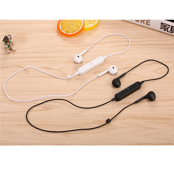 Wireless bluetooth stereo headphones,  in-ear with microphone sweat proof