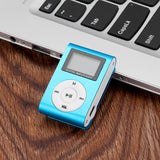 MP3 media player with LCD display supporting up to 16BG micro SD card