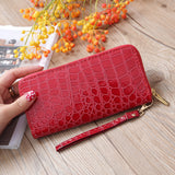 Womens wallet, purse with stone design.
