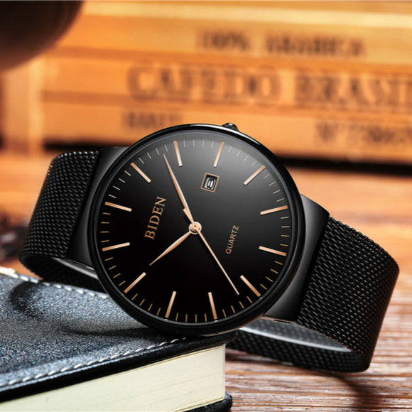 Elegant Ultra Thin Mens casual Watches