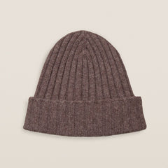 Cashmere Hat - Dark Brown
