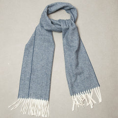 Wool Scarf - Navy