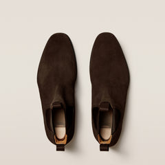 Granhult Dark Brown Suede
