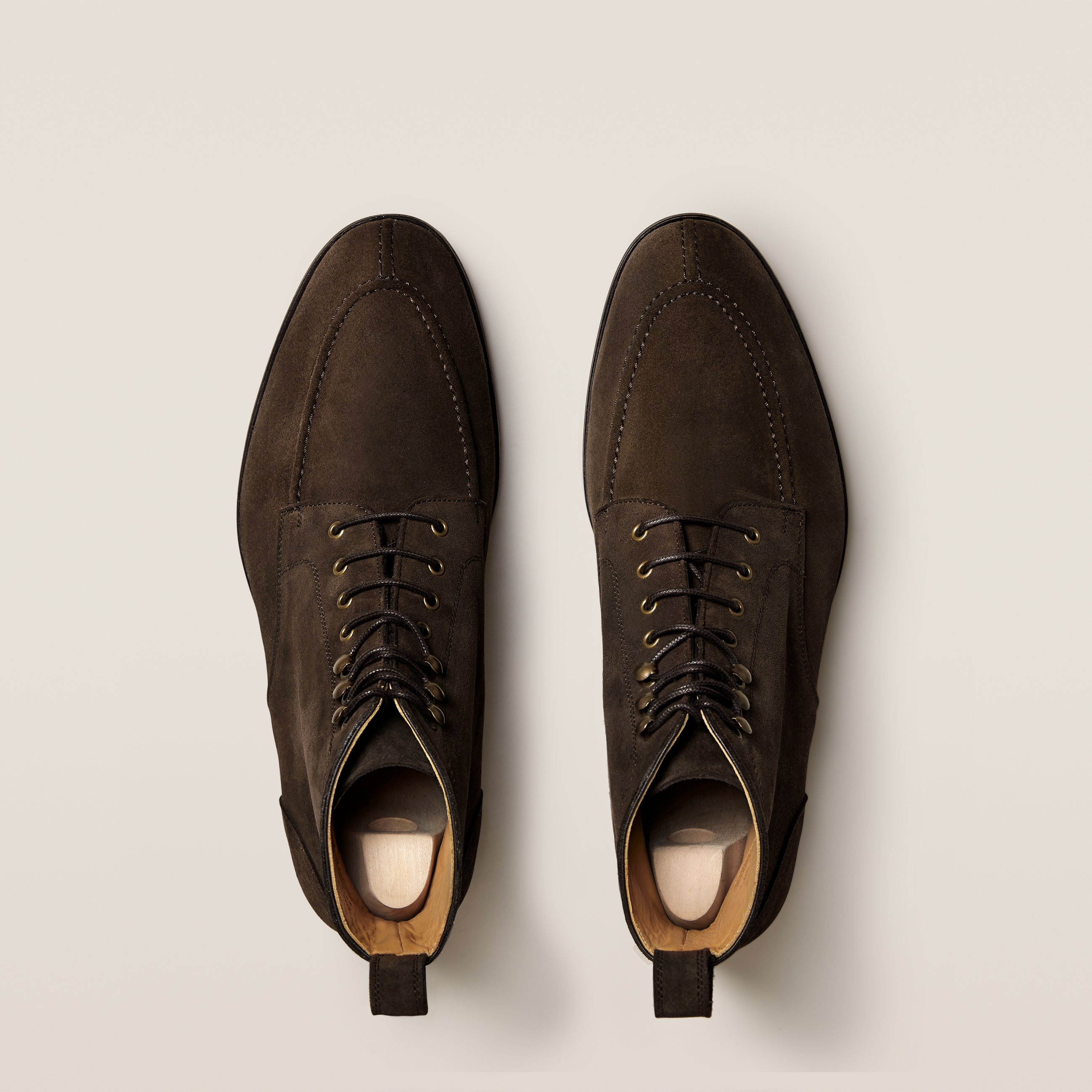 Gothem Dark Brown Suede