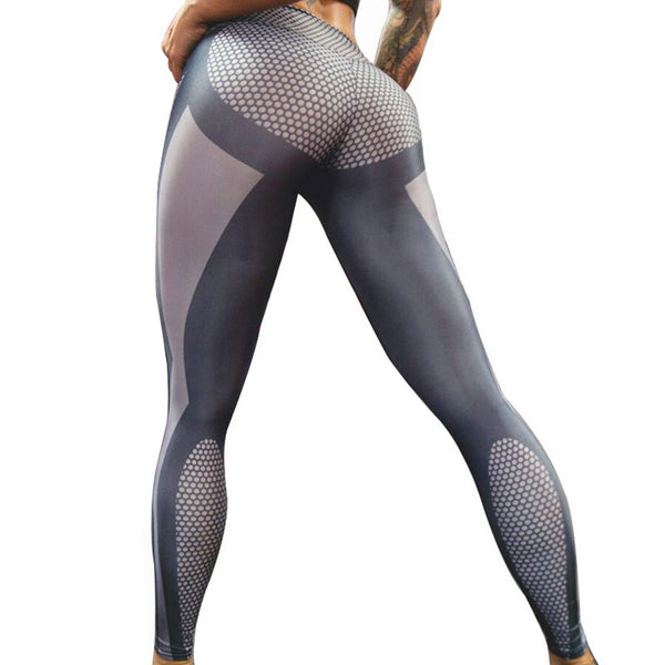 High Waist Dot Print Leggings