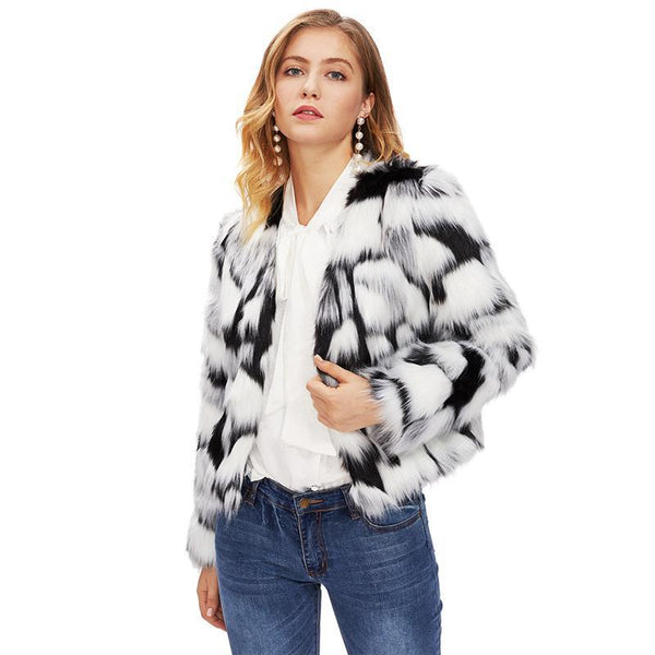Two Tone Open Coat