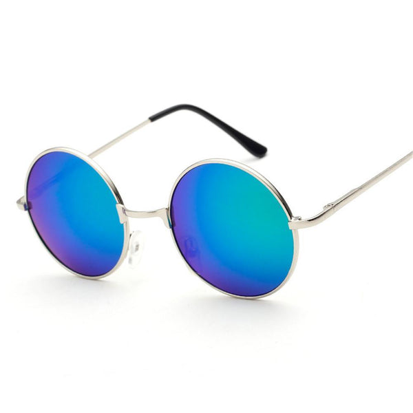Oversized Retro Round Sunglasses