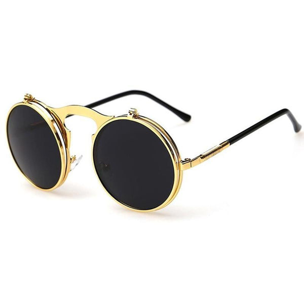 Steampunk Flip Sunglasses