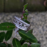 18k White Gold Stacking Set