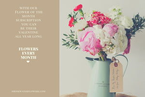 Flower of The Month Subscription