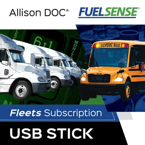 Allison DOC® Fleets (FuelSense®) On USB Memory Stick
