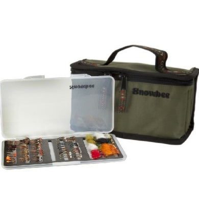 Snowbee Slimline Fly Box Kit