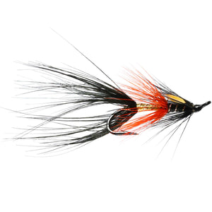 Black Shrimp Salmon Double - Size 10