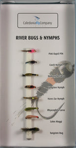 River Bugs & Nymphs Selection