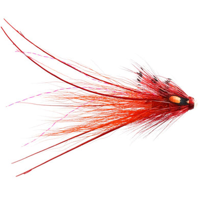 Red Bobby Shrimp Copper Tube - 25mm