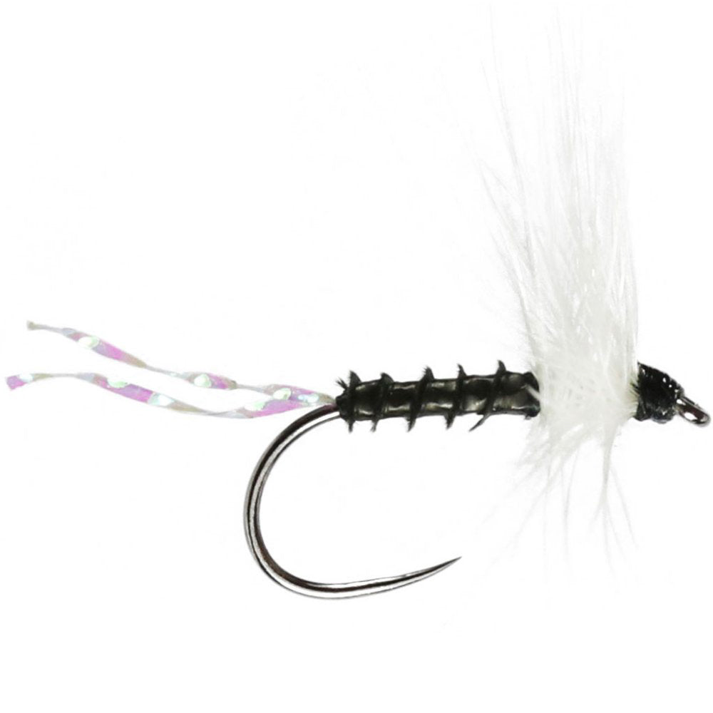 Becks Black Midge Barbless (Size 14)