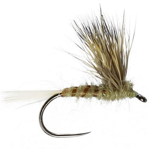 Double Decker Winged Dry Barbless (Size 14)