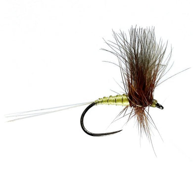 Greenwells Glory CDC Winged Dry Barbless (Size 14)