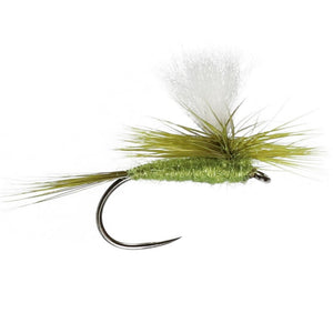 Parachute Olive Dun Barbless (Size 14)