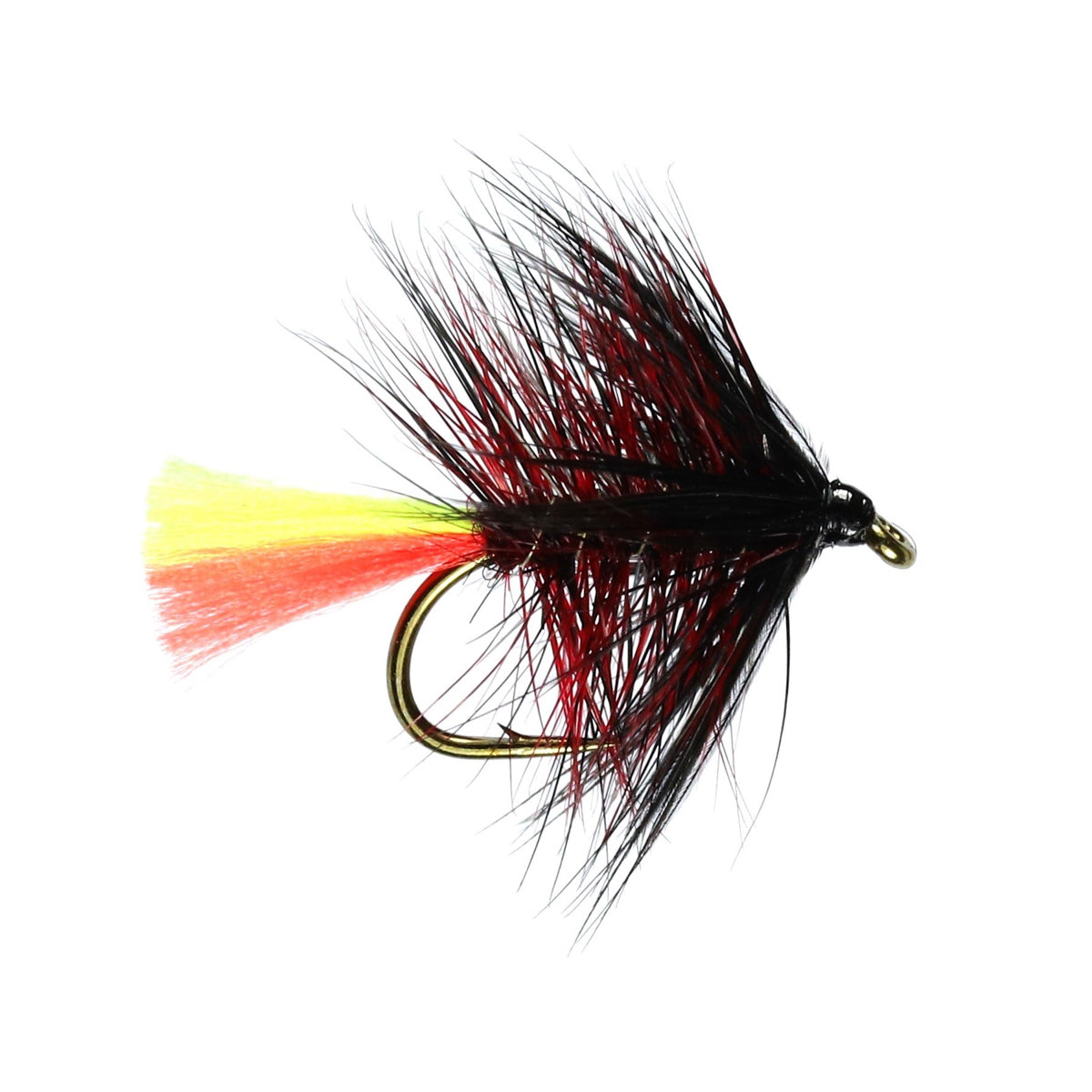 Clan Chief Hackled Wet Fly (Size 12)