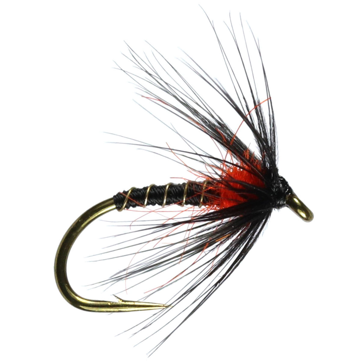 Duck Fly Hackled