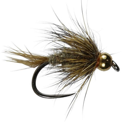 Beaded Gold Ribbed Hares Ear - Barbless