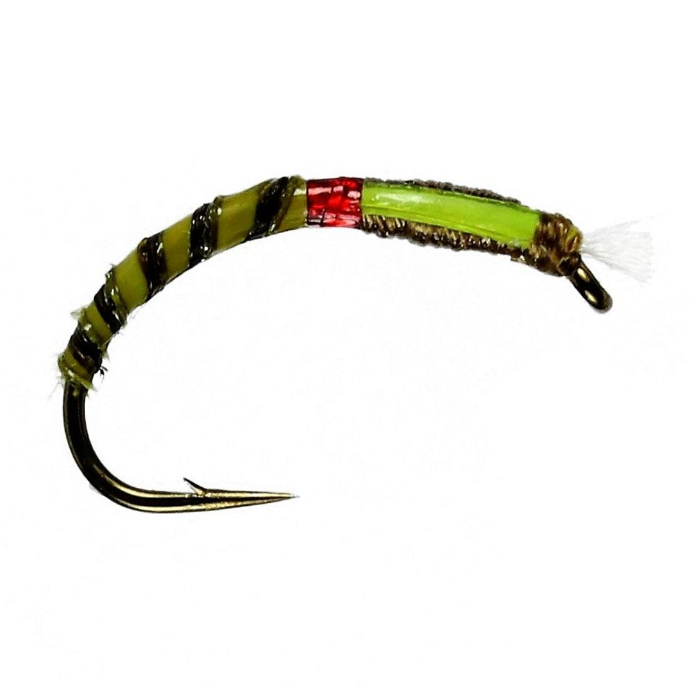 Olive Quill Buzzer (Size 12)