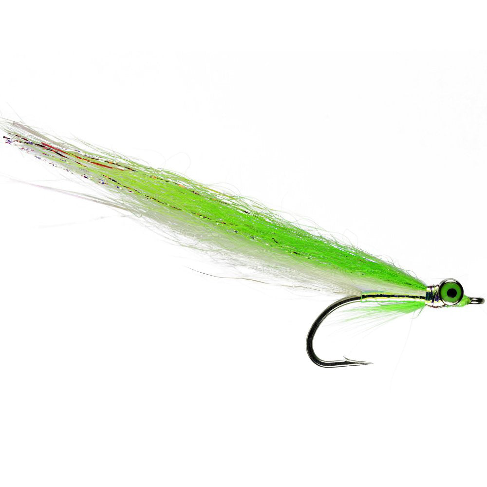 Chartreuse Mirror Clouser Size 04