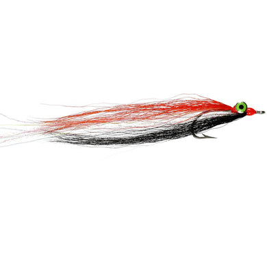 Black & Orange Clouser Size 02