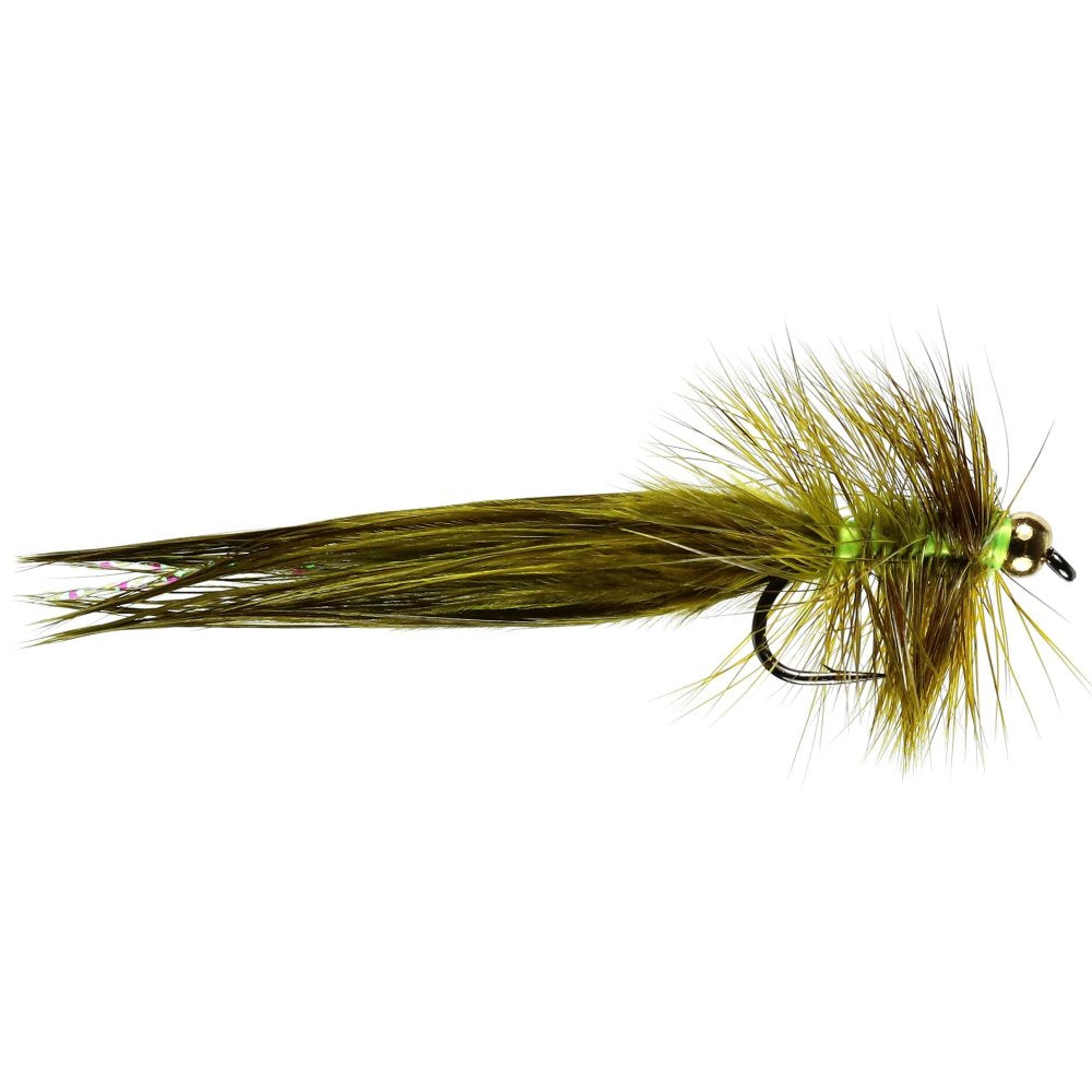 WSW Golden Olive Lure (Size 10)