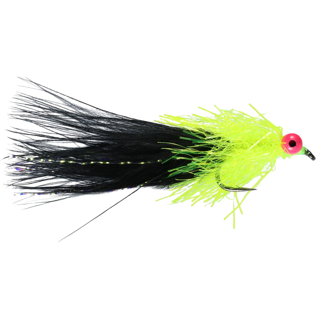 Black Shaggy Cat Lure (Size 10) (Special Order - 1/2 Doz)